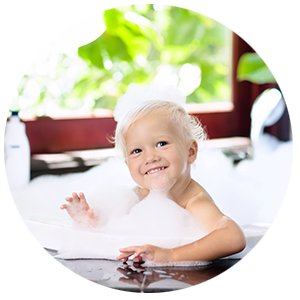 Alka Bath for babies and children