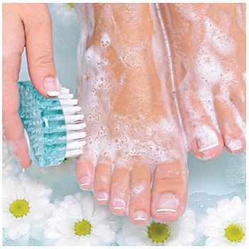 Alka foot bath