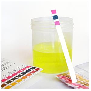 testing pH